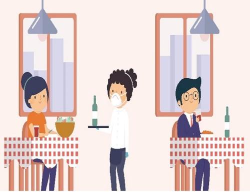 Salir en tiempos de COVID-19: ¿cómo evitar contagios en bares y restaurantes?